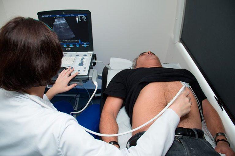 Ecografia d'aorta abdominal